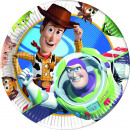 Toy Story Star Power - 10 piatti di carta di grand