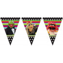 The Muppets - 11 Flags Flag Banner (3-sided)