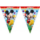 Playful Mickey - 11 Flags Flag Banner (3-edged