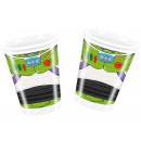 groothandel Home & Living: Toy Story Star Power - 8 plastic bekers 200 ml