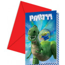 groothandel Stationery & Gifts: Toy Story Star Power - 6 uitnodigingen met ...