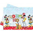 Mickey Christmas Time - 1 plastic tablecloth 120x1