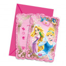 Princess Dreaming - 6 Invitation Cards with Envelo
