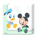 INFANT Mickey - 20 paper napkins (2-ply) 33x3