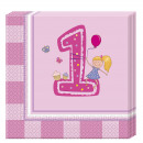 Girls First - 20 paper napkins (2-ply) 33x33c