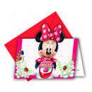 Minnie JAM PACKED With love - 6 Invitation Cards m