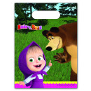 Masha and The Bear - 6 party bags packet of 6 pi