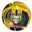 wholesale Party Items: Transformers POWER UP - 8 Paper Plates Large 23cm
