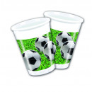Football PARTY (NEW) - 8 plastic cups 200ml