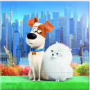 Secret Life of Pets - 20 2ply paper napkins in