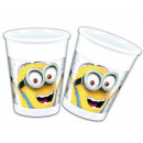 Minions BALLOONS PARTY - 8 plastic cups 200ml