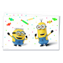 Minions BALLOONS PARTY - 1 Plastic Tablecloth 120x