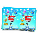 Super Wings - 1 plastic tablecloth 120x180cm
