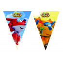 Super Wings - 1 Flag Banner (3-Ears) (9 Flags