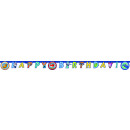 Super Wings - 1 Happy Birthday Banner