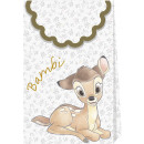 Bambi Cutie Premium - 6 Papiertüten mit Metallic e