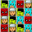 Avengers Team Power - 20 paper napkins (2-ply