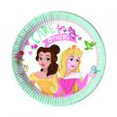 Princess Dare To Dream - 8 Paper Plate Medium 20cm