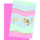 Elegant Party - 6 invitation cards with envelope