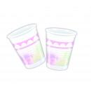 Believe In Unicorns - 8 plastic cups 200ml