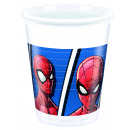 wholesale Houseware: Spiderman Team Up - 8 plastic cups 200ml