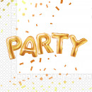 Gold Party - 20 paper napkins (2-ply) 33x33cm