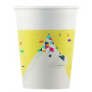 wholesale Party Items: Arctic - 8 Paper cups 200 ml