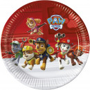 wholesale Licensed Products: Paw Patrol - Ready For Action - 8 Paper Plates Lar