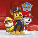 wholesale Party Items: Paw Patrol - Ready For Action - 20 Paper Napkin