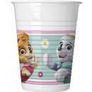 wholesale Houseware: Paw Patrol SKYE & EVEREST - 8 plastic cups 200