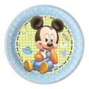 grossiste Cadeaux et papeterie: Bébé Mickey -  Plaques de papier Grand 23cm