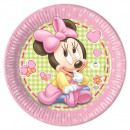 grossiste Cadeaux et papeterie: Bébé Minnie -  Plaques de papier Grand 23cm
