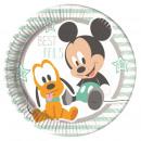 grossiste Cadeaux et papeterie: Infant Mickey -  Plaques de papier Grand 23cm