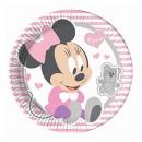 grossiste Cadeaux et papeterie: Infant Minnie -  Plaques de papier Grand 23cm