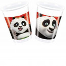 grossiste Maison et cuisine: tasses en  plastique 200ml - Kung Fu Panda