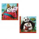 grossiste Maison et cuisine: Kung Fu Panda -  serviettes en papier (2 plis) 33x3