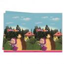 Masha & der Bär -  Tischdecke (Plastik) 120x180cm