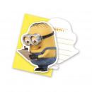 grossiste Cartes de vœux: Minions Lovely -  cartes  d'invitation ...