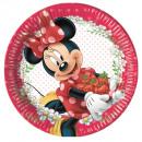 grossiste Cadeaux et papeterie: Minnie Jam Packed  Love - Paper Plates grandes 23cm