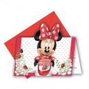 grossiste Cadeaux et papeterie: Minnie Jam Packed  Love - cartes d'invitation a