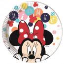 grossiste Cadeaux et papeterie: Minnie Teens -  Plaques de papier Grand 23cm