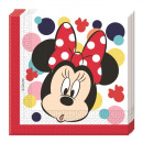 wholesale Household Goods: Minnie Teens -  paper napkins (2-ply) 33x33cm
