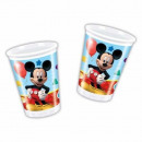 Playful Mickey - plastic cups 200ml