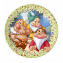 grossiste Cadeaux et papeterie: Sept Nains -  assiettes en papier 20cm