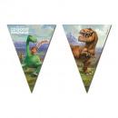 grossiste Cadeaux et papeterie: Bon Dinosaur /  Arlo & Spot - Banner Flag (drei