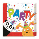 grossiste Maison et cuisine: Zoo Party -  Serviettes en  papier (2 plis) ...