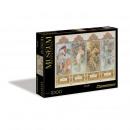 wholesale Puzzle: Mucha 4 Seasons  1000 pieces Puzzle Museum