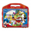 wholesale Mind Games: Disney Mickey  Mouse cube puzzle with 12 cubes