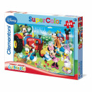 wholesale Puzzle: Mickey Mouse  Clubhouse 104 piece puzzle