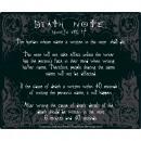 groothandel Beeldschermen: Death Note - Mouse Pad - Regels